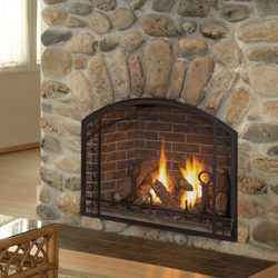 Wood fire & fireplace construction